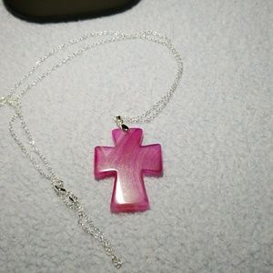 """Jewelry - Cross pendant with 30"""" chain"""